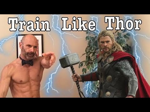Train Like Thor! Episode 5 or The Superhero Series. Build Mass and cut down with Chris Hemsworth
