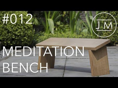 JM - #012 Meditation bench