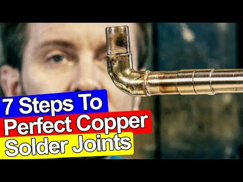 7 STEPS TO SOLDER COPPER PIPE