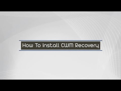 How to install CWM Recovery in any android device single click