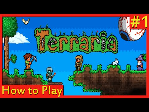 How to Build Shelter | How to Play Terraria #1 [Android, PC, iOS]