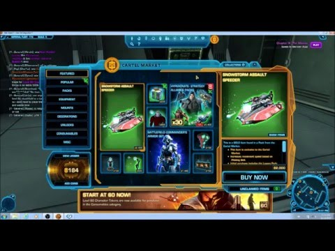 SWTOR How to make millions of credits on the GTN
