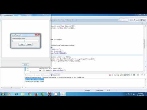 Java Chat Application Tutorial