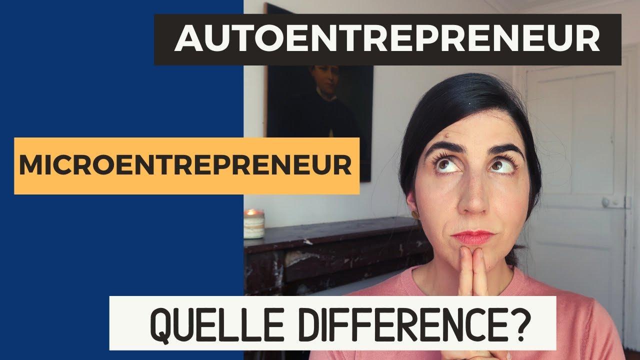 Autoentrepreneur, microentrepreneur : quelle différence ?