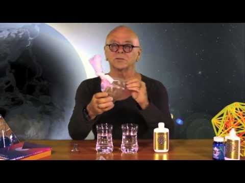 Crystal Energy Water Experiment
