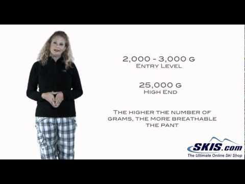 Ski Pant basics