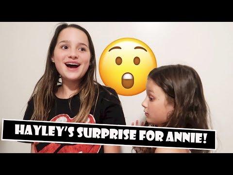 Hayley's Surprise For Annie 😲 (WK 384)   Bratayley