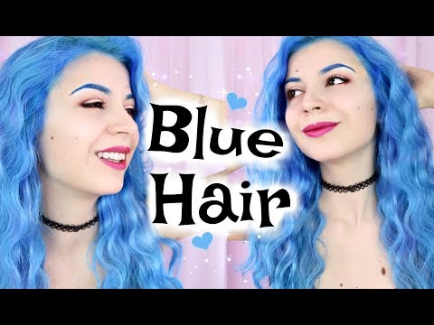 Dyeing My Hair Blue!!! New Hair New Life