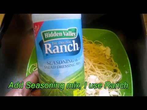 Making Pasta Salad Using Spaghetti