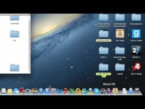 How To Make a Voltz server on Mac and Windows!