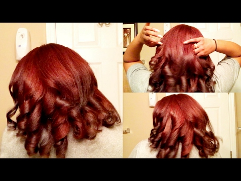 QUICK & EASY | How To Curl w/ a Flat Iron
