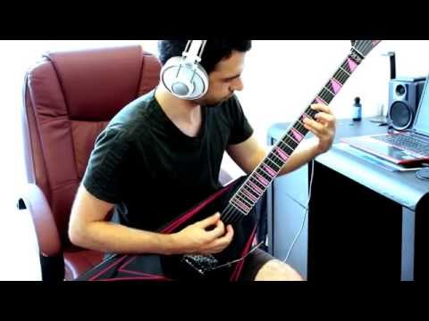 The Agonist - Ideomotor Guitar Solo cover