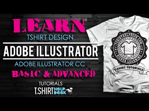 Learn Abobe Illustrator For Tshirt Design...Now!!!!!