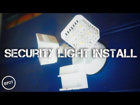 SECURITY LIGHT INSTALL