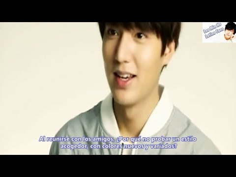 [Sub Español] HD Lee Min Ho - Semir S/S 2013 'Friends'