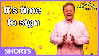CBeebies | Something Special | Learn Makaton Signs