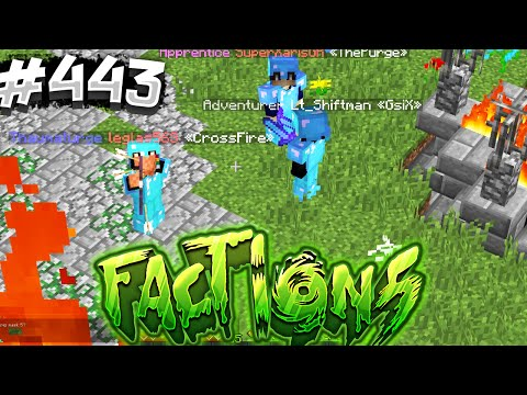 WARP PVP IS SO FUN.... | Minecraft FACTIONS #443