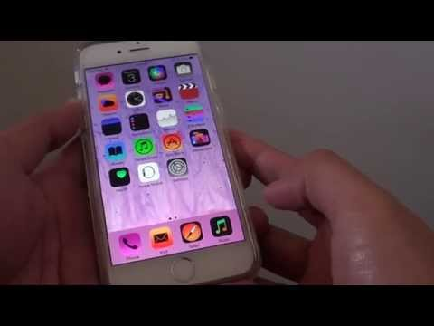 iPhone 6: How to Invert Screen Color To Negative / Normal Mode