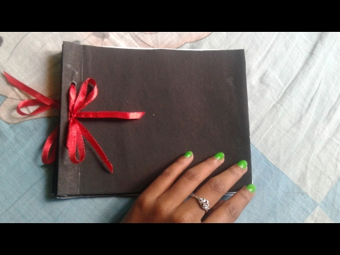 How to make simple and small scrapbook base part \easy and cute