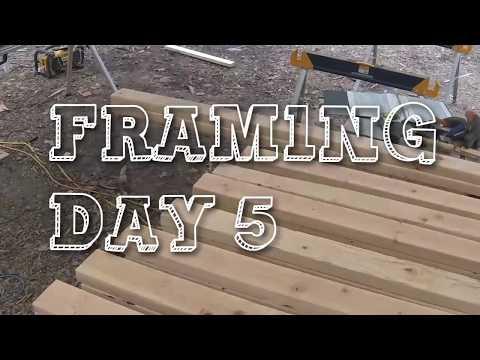 Framing Day 5   Tiny House Build