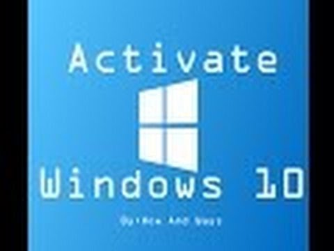 how to activate windows 10 / how to activate windows permanently