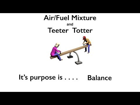 Air/Fuel Mixture and a Teeter Totter