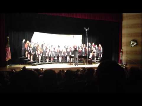 Mary's choir concert: Fum, Fum, Fum