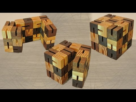 Build of a Flexi (cube) puzzle