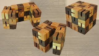 Build of a Flexi (cube) puzzle