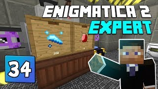 Enigmatica 2: Expert Mode - EP 41 | Lasers, Cinnabar and Rich slag
