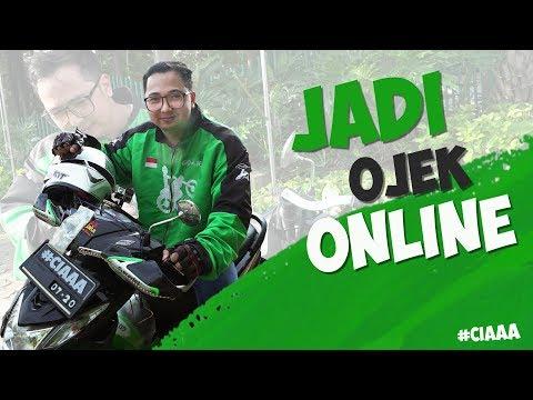 YOUTUBER JADI OJEK ONLINE !!