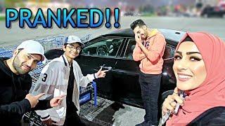 CAR PRANK GONE WRONG (Almost Arrested!!)
