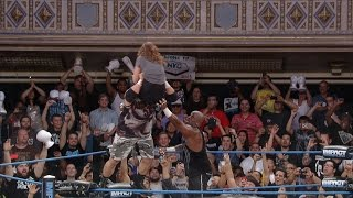 Does Bully Ray Follow Through On His Promise to Put Dixie Carter Through a Table?? (Aug 7, 2014)
