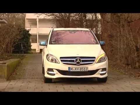 Test: Mercedes B-Klasse Electric Drive