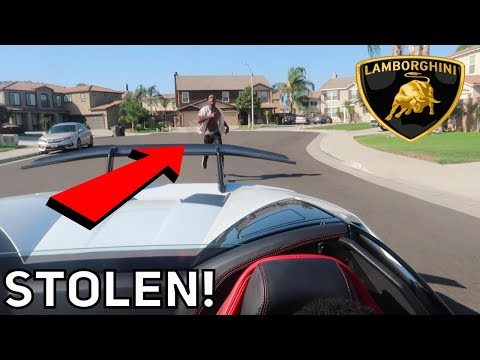 I STOLE P2istheName's Lamborghini and Got REPORTED for RACING Prank (Gone Wrong) *Not ClickBait*