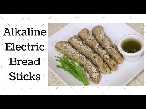 Breadsticks Dr. Sebi Alkaline Electric Recipe