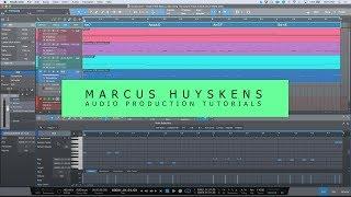 Tutorial - Beat Detective Style Multitrack Drum Editing In Studio
