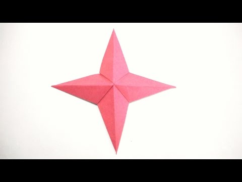 How to make a 4 Pointed Star