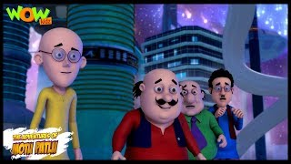 Motu Patlu Ki Inter Planet Diwali - Motu Patlu In Hindi - 3D Animation Cartoon - As On Nickelodeon
