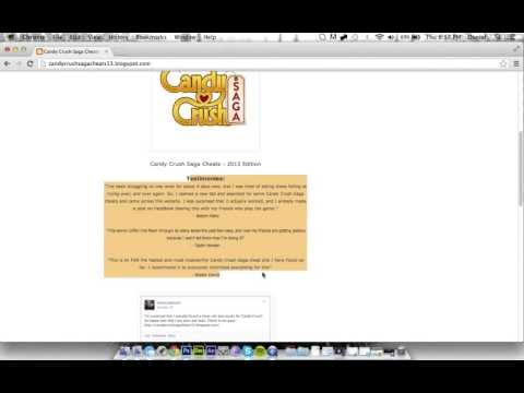 Candy Crush Saga Cheats - [June 2013] [Proof] [FaceBook] [Lives, moves, & items]