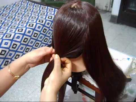 A Very Very Simple hairstyle for School and College girls