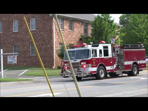 Fire Departments Responding In North Carolina, Texas, Pennsylvania And DC