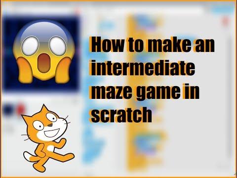 How to make an intermediate maze game in scratch!!