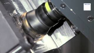 5-axis machining of an Aerospace component, titanium TiAl6V4