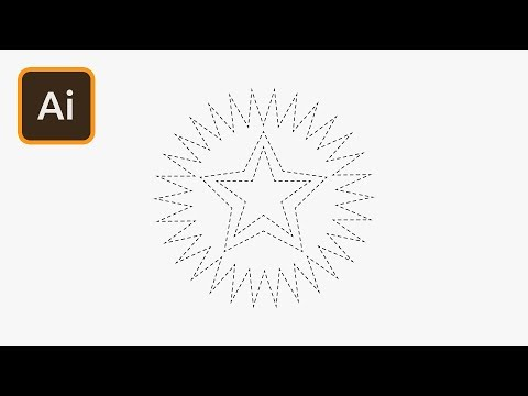 How to Create Star Shapes in Illustrator