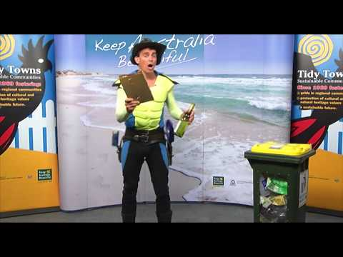 Captain Cleanup talks about keeping your house and yard tidy
