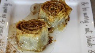 Homemade Baklava Pinwheels