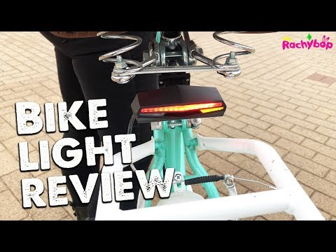 Ampulla Rechargeable Bike Tail Light REVIEW!