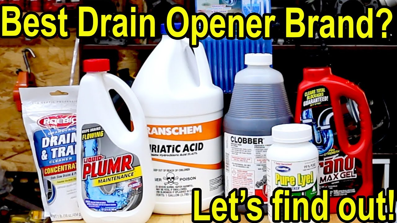 Which Drain Opener is the Best? Let's Find Out!