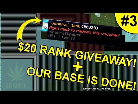 $20 RANK GIVEAWAY + BASE UPDATE! ~ BRAWLWARS #3 (Minecraft Factions)